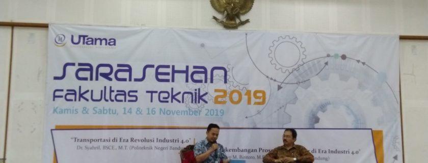 Saresehan Dan Kuliah Umum 2019