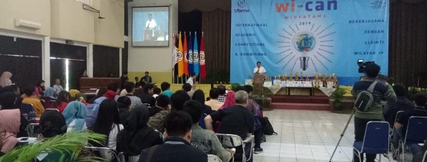 Widyatama International Academic Competition dan Exhibition (Wi-Can)