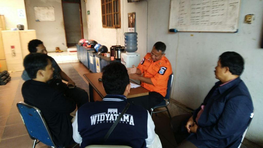 Koordinasi dengan BPBD Kota Cimahi