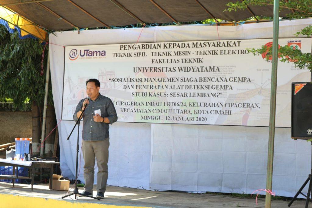 Sambutan Dekan Fakultas Teknik Universitas Widyatama